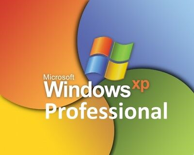 Microsoft Windows XP Professional PRO mit SP3 deutsche OEM Vollversion Key 1PC