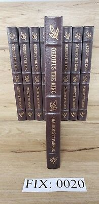Oedipus the King Sophocles Easton Press 100 Greatest Collectors Edition :F20
