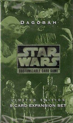 Star Wars - Dagobah Limited Edition Booster - Englisch - Customizable Card Game