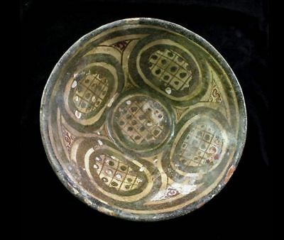 *SC*A VERY ATTRACTIVE ISLAMIC POTTERY BOWL, 10th-11th cent AD!!