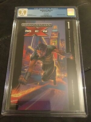 Highest Graded Ultimate X-Men #1 In The World! CGC 9.9 Mint! Only One!