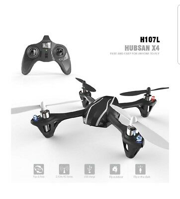 Hubsan X4 Indoor Quadcopter With Spares
