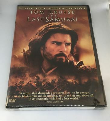The Last Samurai Tom Cruise 2 Disc Full Screen Edition NEW DVD