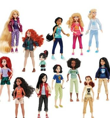 NEW Ralph Breaks the Internet DISNEY PRINCESS 13-Doll Set w/Vanellope Exclusive