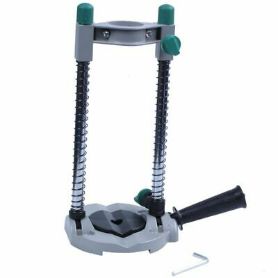 Precision Drill Guide Pipe Drill Holder Stand Drilling Guide with Adjustabl M7P1