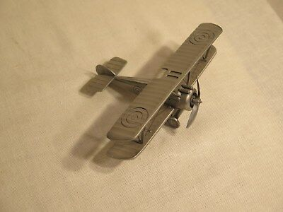 Great Aircraft of History Sopwith Camel Pewter Sculpture The Danbury Mint