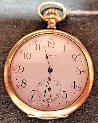 American Waltham Watch Co. 15 Jewels. 25 Year Gold Filled Case. 12 Size ,1899