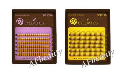 Y- and W-type NEICHA Lashes for Volume extension