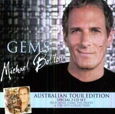 Michael Bolton -GEMS -THE DUETS & THE HITS COLLECTION -BRAND NEW AND SEALED 2CD