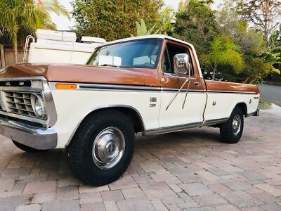 1973 Ford F-250 XLT Trailer Special 1973 Ford F Series F-250 XLT Trailer Special