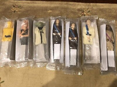 2012 Set of 7 Star Wars 3D PENS General Mills Cereal - Never Opened