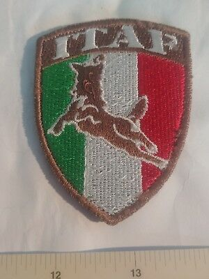Italian Army Forces Canine K9 Patch Isaf Herat Afghanistan