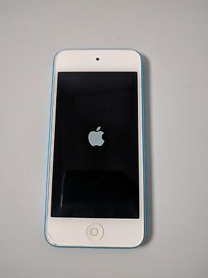 Apple iPod touch 5th Generation Blue 16GB Model A1421 Locked For Repair or Parts