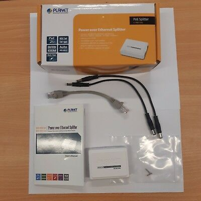 Planet POE-152S IEEE 802.3af Power Over Ethernet Injector