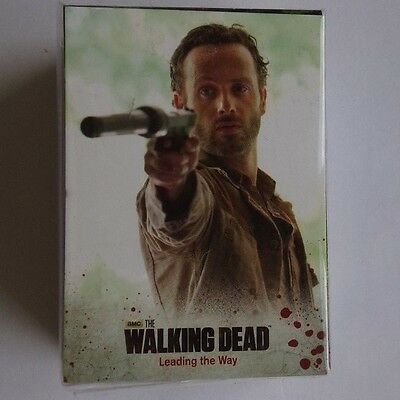 The Walking Dead season 3 part 1 full 72 card base set