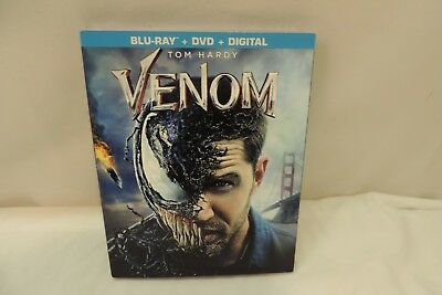 Venom ( Blu-Ray + Dvd+Digital) Brand New