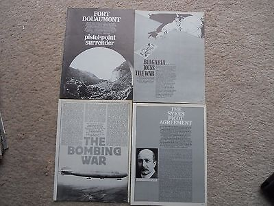 4 Purnell Ww1 Magazines No Covers