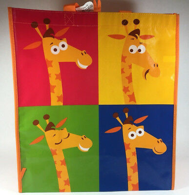 Geoffrey Giraffe Themed Toys R Us Exclusive Reusable Shopping Bag Tote Gift Bag