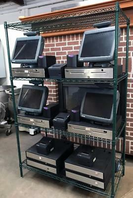 Micros Pos Workstations Epson Tm-T88 Printers Oneac Pc120A Power Conditioners