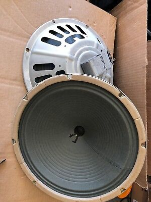 """vintage speakers 12"""" Pair 6 Ohm. Tested And Works Perfect! Alnico"""