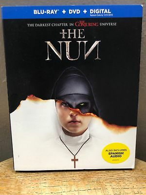 THE Nun (Blu-ray+DVD+Digital, 2018) NEW w/ Slipcover; The Conjuring Universe