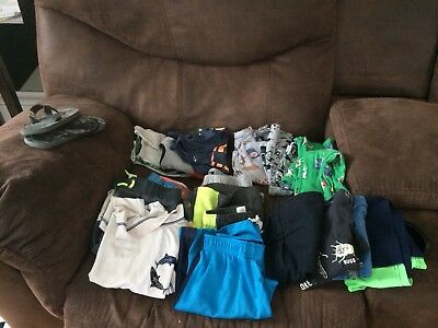 Lot Of 17 Boys Warm Weather Size 5-7.