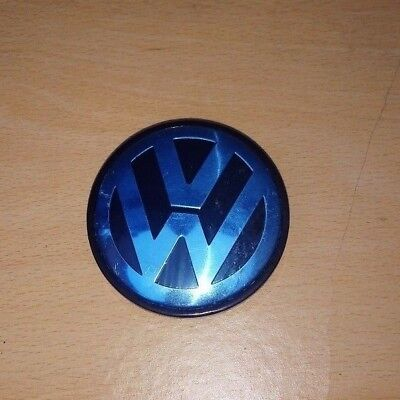 1 X Alloy Wheel Centre Caps 65mm Golf MK6 MK5 for VW
