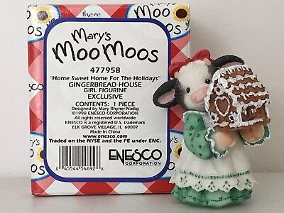 Mary's Moo Moos - Swiss Colony (7th Avenue) Exclusive - Home Sweet Home...