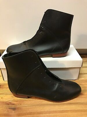 High Country, Size 8 W WOMENS Clogging Dance boots, Shoes, (no Taps) Black