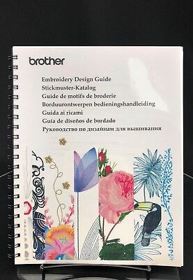 Brother Luminaire XP1 - Embroidery Design Guide - Sewing Machine Manual COLOR