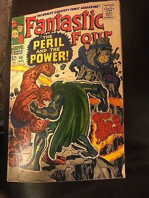 Comic Fantastic Four Number 60