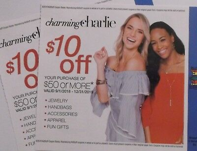 Charming Charlie Savings Certificates (2)
