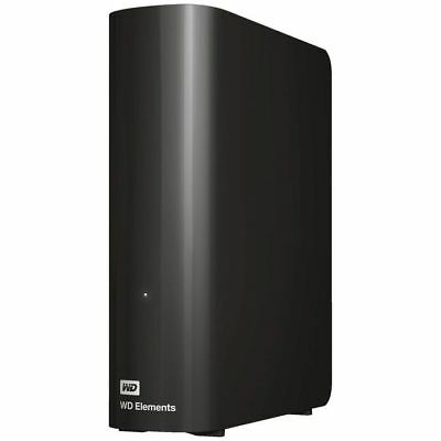 Western Digital Wd Elements Desktop 8Tb Black