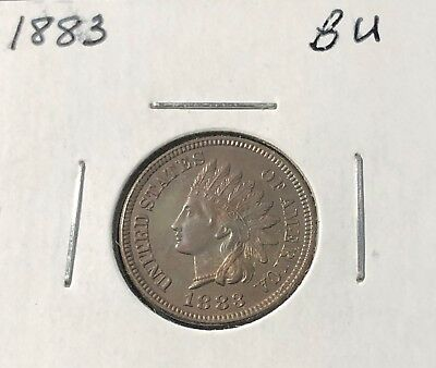 1883 Indian Head Cent - BU