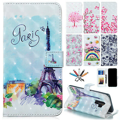 For Samsung Galaxy S10 Plus Lite Leather Phone Case Magnetic Wallet Stand Cover