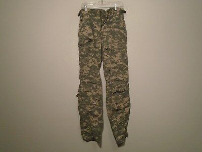 Us Army Acu A2Cu Aircrew Combat Pants Fire Resistant Small Regular 2007 P-15