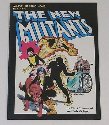 Marvel Graphic Novel #4 NM 1st app The New Mutants 1st Print Marvel 1982