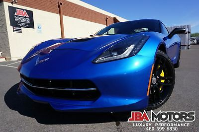 2014 Chevrolet Corvette Stingray 2014 Z51 3LT Stingray Coupe Manual Transmission 14 Blue Chevy Corvette Stingray Z51 3LT Coupe like 2012 2013 2015 2016 Serviced!