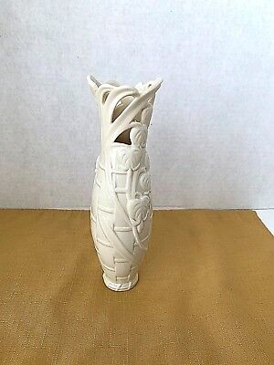 """Lenox~BASKET OF FLOWERS Collection BLEEDING HEART BUD VASE~EXCELLENT~8"""" TALL"""