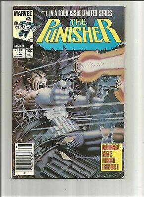 PUNISHER LIMITED SERIES #1 1986  CLASSIC MIKE ZECK COVER VF/VF+ Or Better!!!