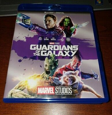Guardians of the Galaxy (Blu-ray Disc, 2017) NO DIGITAL!