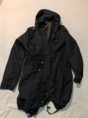 H&M Mama Black Jacket Womens Medium