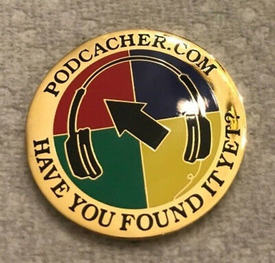 Unactivated 2007 Podcacher Gold Geocoin