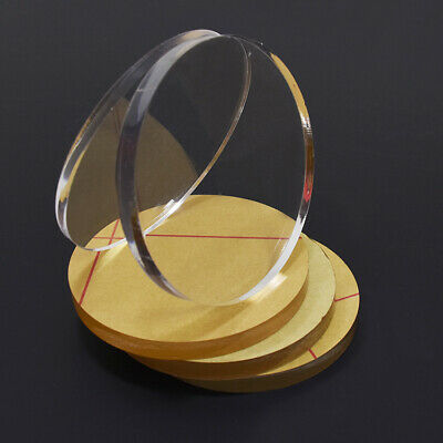 Clear Laser Cut Circle Plastic Acrylic Discs Glass Dia 50 70 80 100 200 300mm