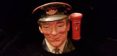 Rare Royal Doulton Toby The Postman D6801 Limited Edition #4902/5000