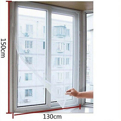 Magnetic Mosquito Window Instant Mesh Screen Bug Fly Pet Patio Net Hands Free