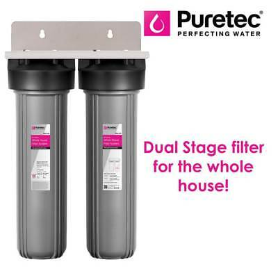 Puretec WH2 - Dual Stage Water Filter for the Whole House