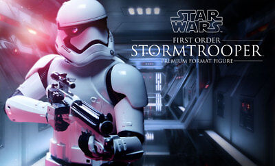 SIDESHOW First Order Stormtrooper Premium Format Figure Statue NEW SEALED