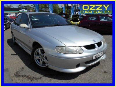 2001 Holden Commodore VX S Silver Automatic 4sp A Sedan