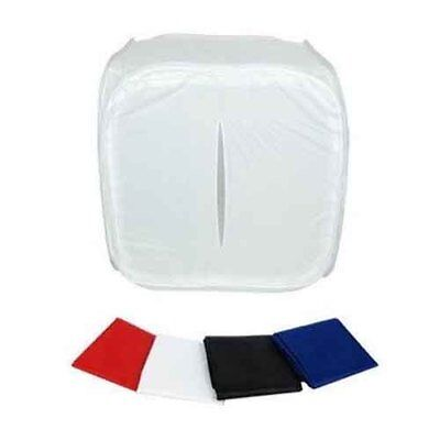 Godox 40x40x40 cm Portable Light Tent + 4 colour Backdrops Red White Black Blue